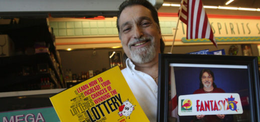 Richard Lustig has won seven major prizes from the Florida Lottery, ranging from $10,000 in 1992 to more than $800,000 on the Mega Money game.  (Photo by George Skene/Orlando Sentinel/MCT via Getty Images)